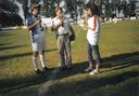 Fotbalové utkání osobností 2003 - I. Kubelková, P. Rychlý