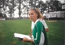 Megashow na fotlabovém hřišti 2001 - modelka Štefánková
