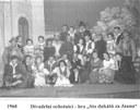 """1960 Divadelní ochotníci - hra """"Sto dukátů za Juana"""""""