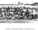 1952 - 53 Nová škola 1. třída - uč. Jaroslav Vavroš